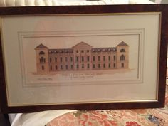 David Linley Signed, Numbered Rare Ltd Edition Lithograph Work Of Art