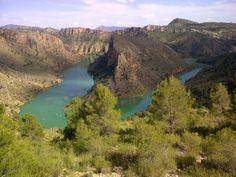 Cañón del río Segura. En el término de Liétor (Albacete) Abril 2013