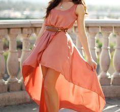 #dress #highlow #fashion #girls #cute