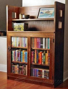 Barrister Bookcase Plans - Furniture Plans and Projects | WoodArchivist.com