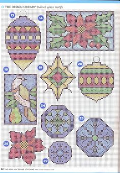 Gallery.ru / Фото #36 - The world of cross stitching 144 - WhiteAngel