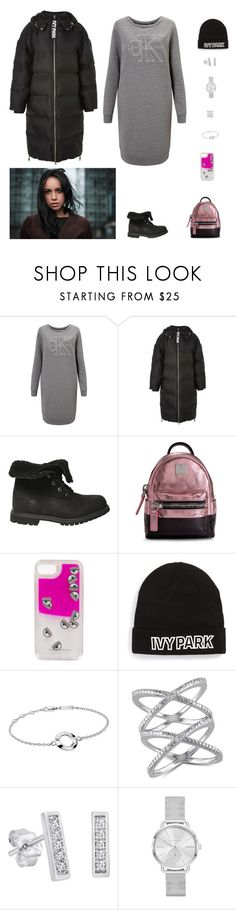 """Без названия #3160"" by gvarjusha ❤ liked on Polyvore featuring Calvin Klein, Ivy Park, Timberland, MCM, Chiara Ferragni, Ice, Amanda Rose Collection, Michael Kors, timberland and CalvinKlein"