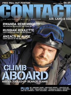 CONTACT Air Land & Sea issue 2, first published in June 2004