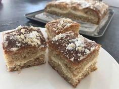 Túrós szelet (glutén-, laktózmentes) Tiramisu, Cheesecakes, Ethnic Recipes, Cakes, Food Cakes, Cheesecake, Tiramisu Cake, Cherry Cheesecake Shooters
