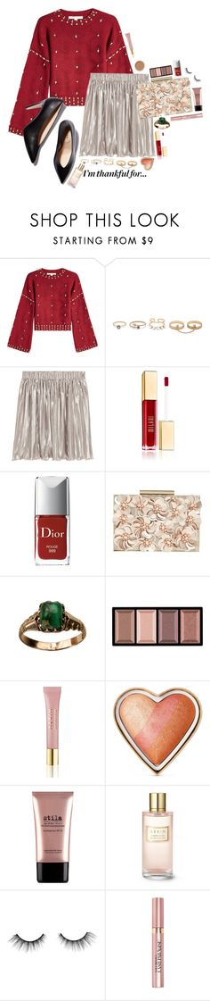 """Sin título #1260"" by monijerez ❤ liked on Polyvore featuring Jonathan Simkhai, M. Gemi, LULUS, Christian Dior, Phase Eight, Clé de Peau Beauté, Bare Escentuals, AERIN, Too Faced Cosmetics and Stila"