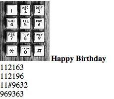 12. Aprende a tocar Cumpleaños Feliz por teléfono.