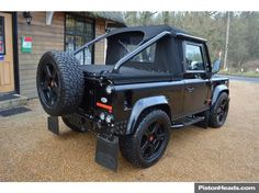 Classic Land Rover Defender 90 SVX Soft Top TMD LE for sale - Classic & Sports Car (Ref Sussex)
