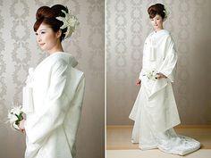 日本伝統の花嫁衣裳『白無垢』