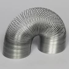 """KIT: slinky spring: Demonstrate wave pulses with this metal spring, measuring in diameter and 6 """" long, unextended. Africa Mission Trip, Metal Spring, Flexibility, Product Development, Wave, Science, Kit, Back Walkover, Product Engineering"""