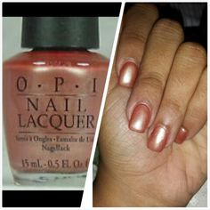 OPI- Nomad's Dream, another one of my favorite nail polishes, I always have to have one in stock