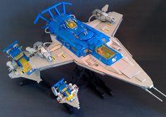Galaxy Explorer 2.0 Comparison B | by LegoSpaceGuy