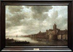 Jan van GOYEN, Vue de Nimègue  1643, H. : 1,10 m. ; L. : 1,61 m. Musée du Louvre
