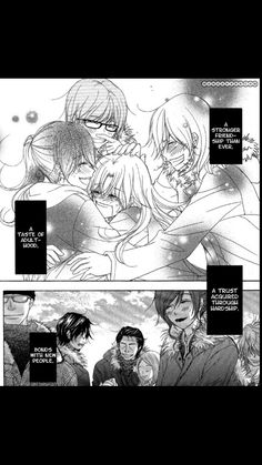 When they save Rena. -- Dengeki Daisy, moments, pages