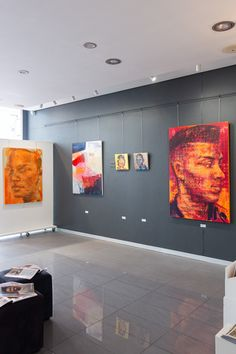Bold, colourful paintings by Claude Chandler, Tanja Truscott and Chris Denovan on show at StateoftheART in Cape Town this month. Online Gallery, Art Gallery, South African Artists, Original Art For Sale, Colorful Paintings, Cape Town, Online Art, Contemporary Art, Art Museum