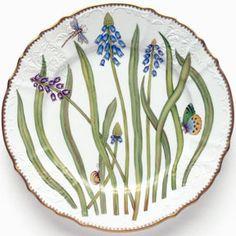 Anna's Garden Dinnerware Hand Painted | Gracious Style