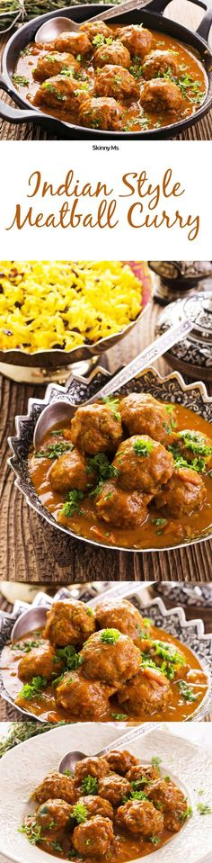 There is seriously nothing like the taste of Indian curry! Definitely going to make this Indian Style Meatball Curry asap!