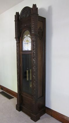 Items similar to Antique Grandfather Clock on Etsy Antique Grandfather Clock, Grandmother Clock, Antique Clocks, As Time Goes By, Tattoo Ideas, Catalog, Watches, Antiques, Etsy