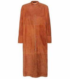 Luri suede coat | The Row