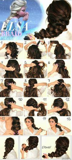 ELSA BRAID only in 15 simple steps!