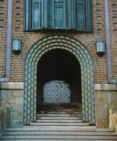 Art Nouveau, Art Deco, Eero Saarinen, Romanticism, Old Buildings, Staircases, Helsinki, 1920s, Mid-century Modern