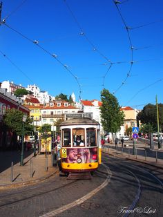 Lisbon has a network of quaint, old-fashioned trams that lurch and screech around the narrow streets of the capital.In operation since 1873, it presently comprises five urban lines.