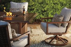 Summer is in full swing and, if you haven't already, you should check out our Outdoor by Ashley furniture! What better way to enjoy the beautiful warm weather and cool Summer nights than with brand new outdoor furniture and fire pits! #outdoors #outdoorfurniture #Summer #comfort #style #firepit #furnituretocomehometo #RegalHouse