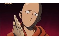 One Punch Man Funny, One Punch Man Manga, One Punch Man 1, Anime One, Otaku Anime, Saitama One Punch Man, Anime Reccomendations, Man Wallpaper, Naruto Funny