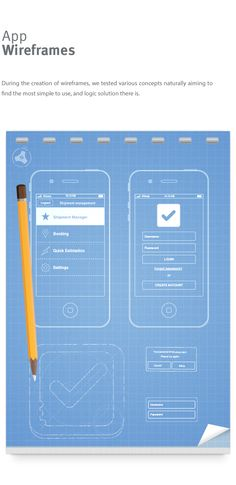 ShipmentManager Mobile App by SATURIZED , via Behance