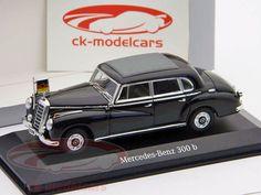 CK-Modelcars - B66960230: Mercedes-Benz B 300 Конрада Аденауэра черный / черный 1:43 Minichamps