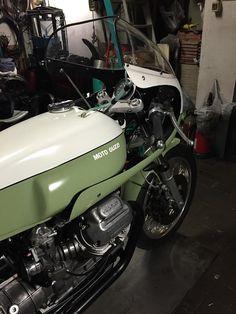Racing Cafè: Moto Guzzi 1000 SP BRT#01 (Bencini Racing Team #01) Vintage Endurance Special