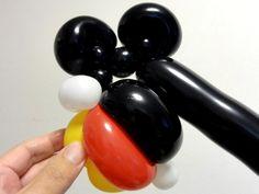 バルーンアートの作り方!簡単かわいい【ミッキーマウス】
