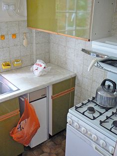Design Sponge - kitchen remodel (before) - looks pretty good for a before.