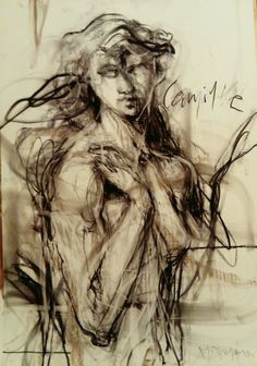 Pastels on paper Matina Stavropoulou
