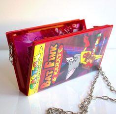 Upcycled VHS Handbag Purse Shoulder Bag Clutch