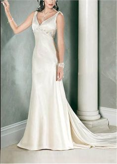 LACE BRIDESMAID PARTY BALL EVENING GOWN IVORY WHITE FORMAL PROM STRETCH SATIN SLEEVELESS BEADED WEDDING DRESS