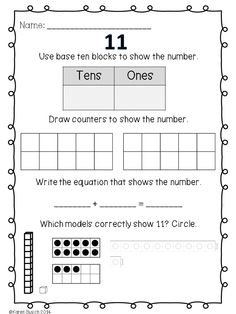 math worksheet : 1000 images about kindergarten math on pinterest  math centers  : Number Sense Worksheets For Kindergarten