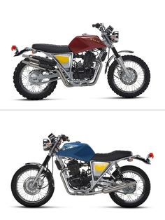 The brand with the best name in motorcycling is back: Lombardy-based Speedy Working Motors. This time, there's strong financial backing and six fine new models to choose from — including the retro-styled 440cc singles shown here. Here's wishing them a speedy success.