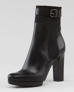 Belted Ankle Boot by Lanvin at Neiman Marcus.
