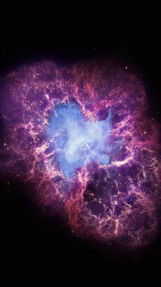 Purple Eye in the Sky Nebula