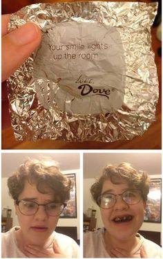 Thanks, Dove...