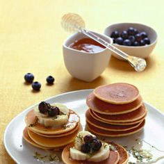 Pancake per tutti i gusti - Ricetta | Donna Moderna