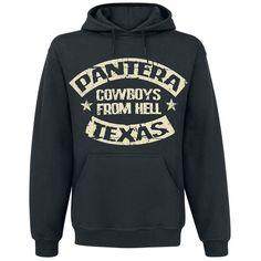 "Panteran ""Cowboys from hell"" -huppari, 80% puuvillaa, 20% polyesteria."