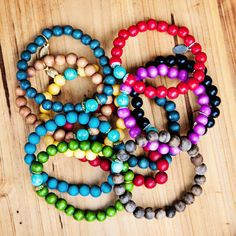 #SALE extended for the next 24 hours! Still time to stock up on gifts for the holiday or add to your personal bracelet collection. Orders over $50 ships for #FREE. Shop HERE: http://www.lifetherapy.com/collections/sale #stockup #gifts #color #bracelets