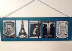 Kid's name - Paris themed bedroom teen girl