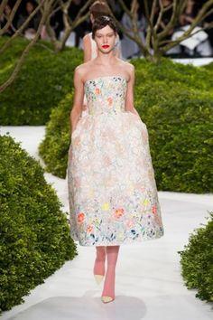 Primavera-Estate 2013 Alta Moda  Parigi  Dior Haute Couture