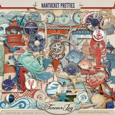 Nantucket Pretties - for when I dig out any lighthouse pictures that need to be scrapped