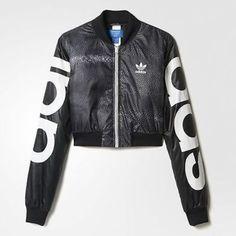 Adidas Rita Ora Mystic Moon Crop Track Jacket #AdidasRitaOra #CropTrackJacket
