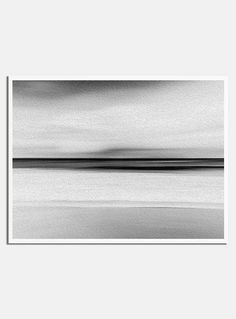 Black and White Beach Painting | Beach Print | Abstract Painting | Minimalist Print | Scandinavian Print | Scandinavian Art | Ocean | Water  ---All Artwork is Printed on High Quality, 56 lb Premium Pro Matte Paper using Premium Quality Ink  ---FREE Standard Shipping Anywhere in the