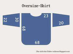 Nur nicht den Faden verlieren: RUMS #twenty-two: Oversize-Shirt (mit Tutorial)