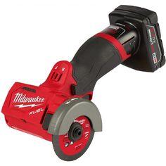 "Milwaukee 2522-21XC M12 FUEL 3"" Compact Cut Off Tool 4Ah Kit"